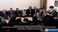 İranlı Şehit ailesinin metaneti
